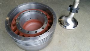 MC 90 Piston and Spindle after Full Reconditioning